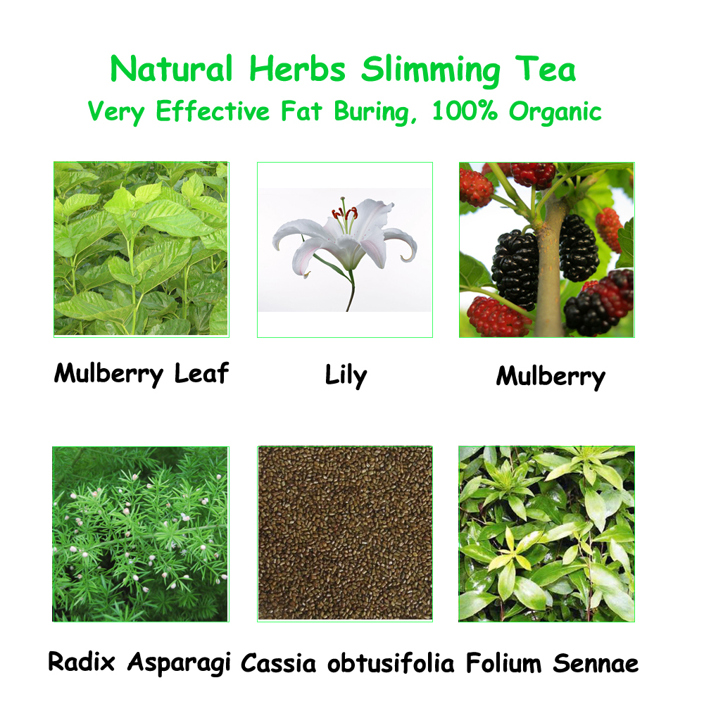 Slimming Tea, Herbal Tea for Slim, Natural Weight Loss ...