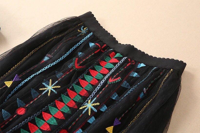 Diseño Faldas Ropa Lujo Mujeres Europeo De 2019 Fiesta Estilo Pista Marca D01230 La Mujer Moda Las RgOqIwz