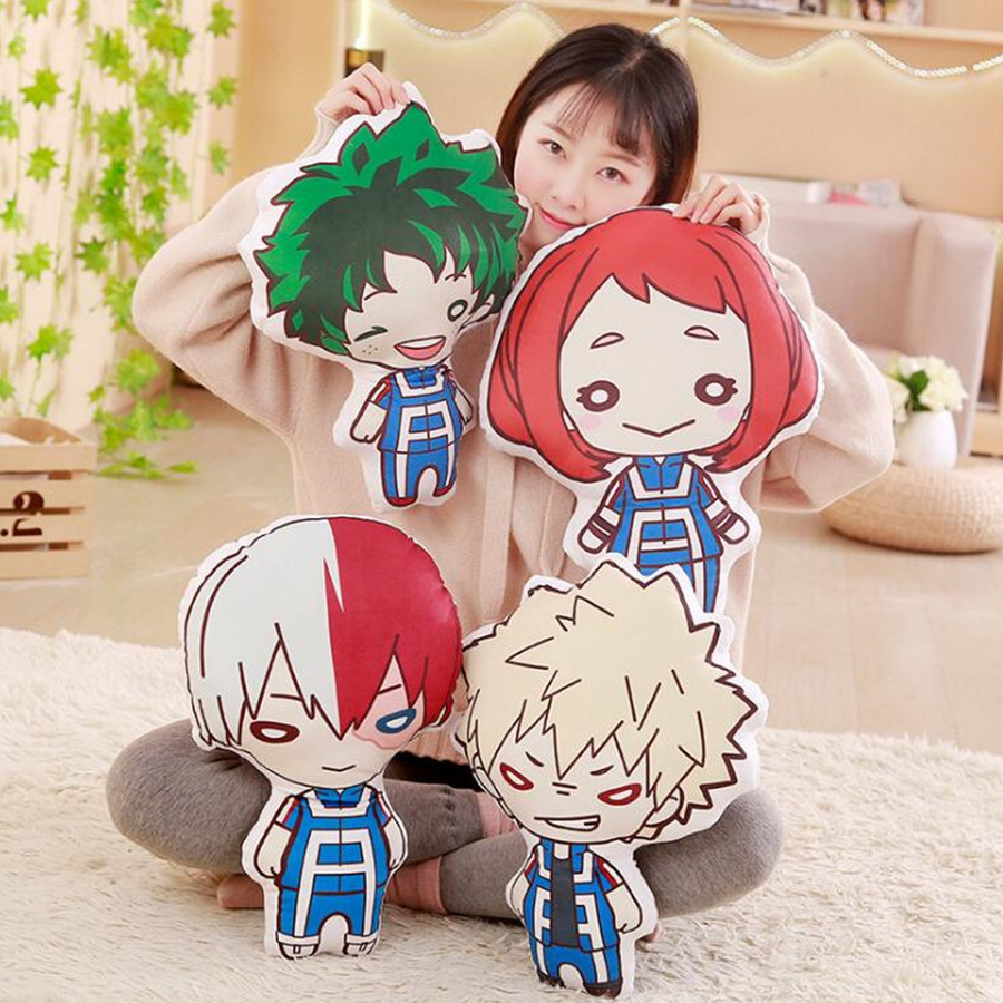 My Hero Academia Anime Pillow Plush Toy bakugou katsuki comics Cute Soft Doll Stuffed SoftLovely POP Plush Brithday Gift Pillow