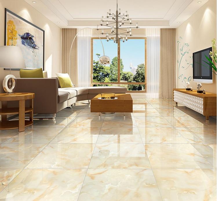 Porcelain Tile Living Room: Free Shipping 800*800 Foshan Prevent Slippery Floor Tile