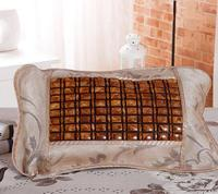 Jade bamboo rattan mahjong summer ice silk tea pillow single summer cool pillow head bed pillow core set of bamboo pillow