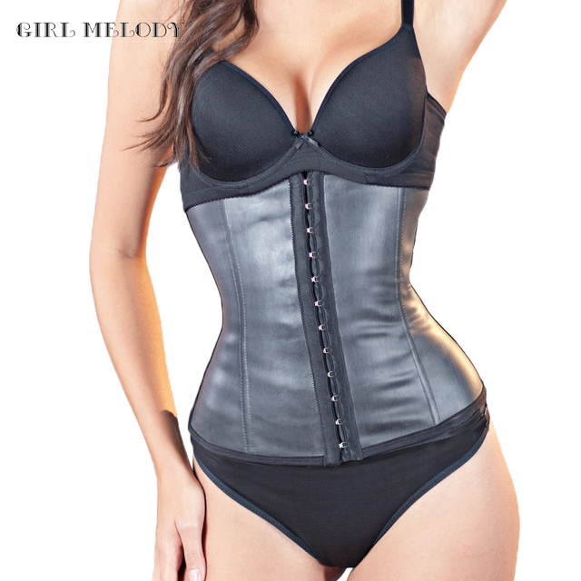 Waist Shaper Corsets Steel Bone Latex Waist Cincher,Latex Corsets and bustiers,Rubber Cincher Bustiers for Women