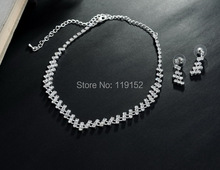 Jewelry Sets Crystal Bridal Jewelry Set Gifts Silver