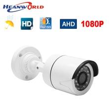 Heanworld 1080 P AHD กล้อง 2.0MP HD วงเล็บ analog กล้อง night vision กล้องวงจรปิดกล้องเฝ้าระวังพลาสติก ABS