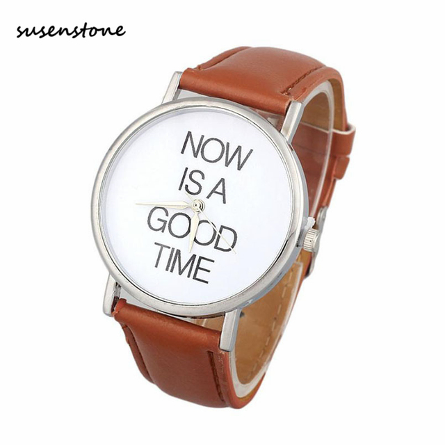 Susenstone 2017 Simple Classic design Women Watch Ladies Female Fashion Casual Business Quartz Watch Clock Relogio Feminino saat