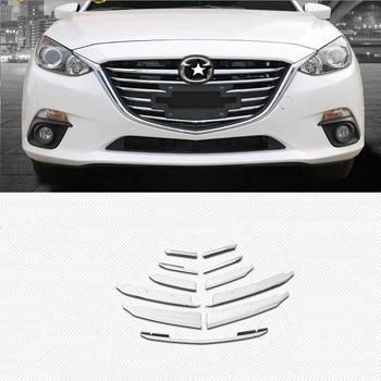 Griglia di auto Esterno Excent Decorativo Modificato Auto Protecter Decorazione Brillante Paillettes Accessorio 14 15 16 17 PER Mazda Axela