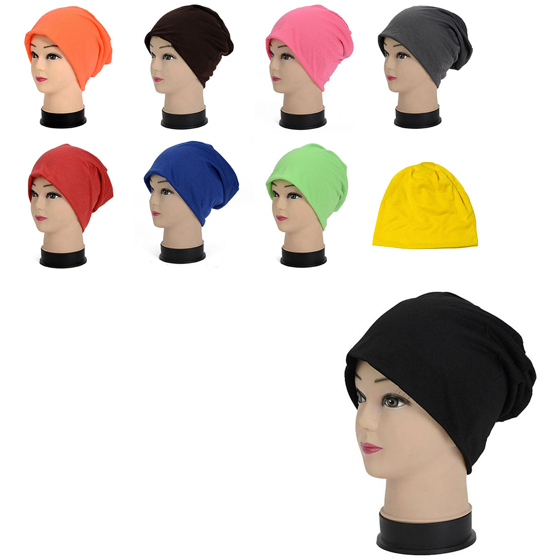 Spring Women Men Unisex Knitted Winter Cap hedging cap Casual   Beanies   Solid Color Hip-hop Snap Slouch   Skullies   Bonnet   beanie   Hat
