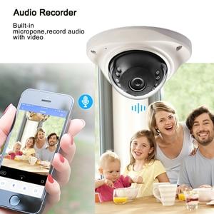 Image 3 - Hamrolte IP Camera H.265 SONY IMX323 UltraLow Illumination1080P Vandal proof Dome Camera Audio Record Motion Detection ONVIF