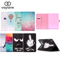 For Samsung Galaxy Tab 4 10.1 Case, Ultra Slim SmartCover Stand Cartoon Leather Case For Samsung Galaxy Tab 4 SM-T530 Tablet