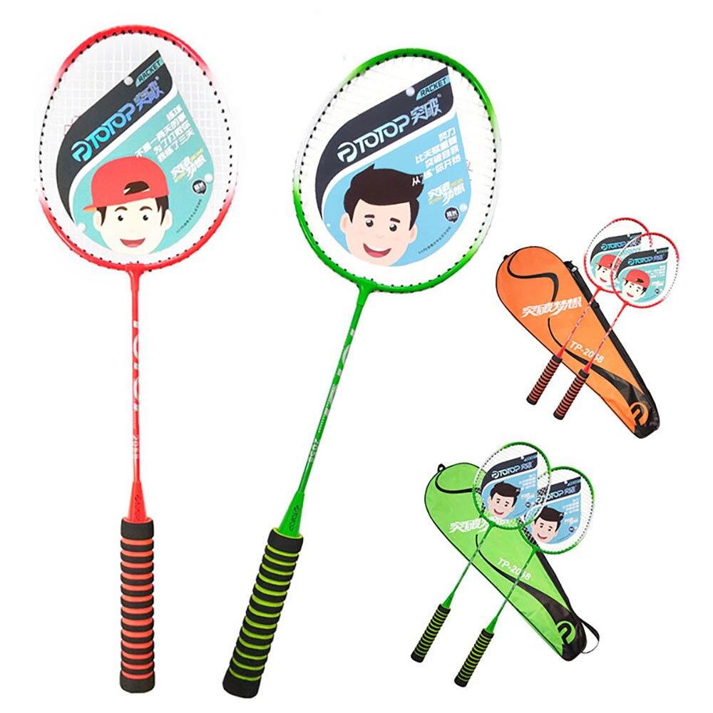 Racket Badminton Racket Game Sports Sports Racket Ferroalloy Nylon Professional Lightweight Toys