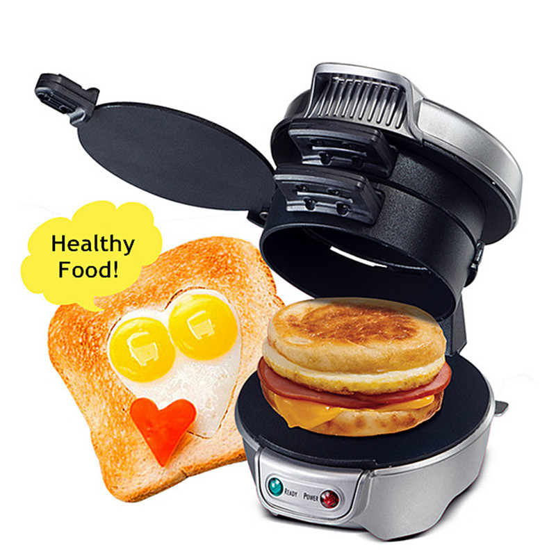 2016 New Cooking Tools Breakfast Sandwich Maker Hamburger Press Burger Maker Barbecue Household Kitchen Pizza BBQ Patty Maker new arrival without original box house kitchen cart barbecue kitchen cart simulation role playing best early education toys