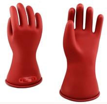 цены на 5KV Electric Service Work Gloves Class 0 Latex Rubber Insulating Gloves в интернет-магазинах