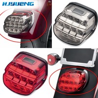 Motorcycle Rear Lamp Harley Electra Glide Led Brake Tail Light Dyna Softail Fatboy FLSTF Night Train FXSTB Sportster Road King