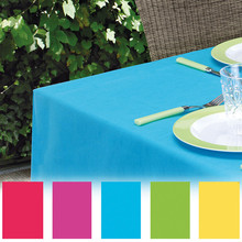 1PC 137x274cm Plastic Disposable Tablecloth Solid Color Wedding Birthday Party Table Cover Rectangle Desk Cloth Wipe Covers sale