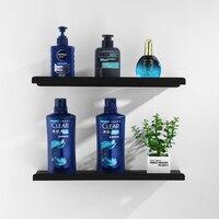 Nordic Matte Black 304 Stainless Steel Bathroom Shelf 1/2/3 Layer Wall Hanging Caddy Storage Rack Shower Organizer Bathtub Tray