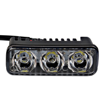 2Pcs 6 LED Bulbs Waterproof Car DRL Daytime Running Lights DC 12V Automobiles Fog Lamps Car