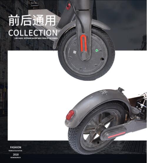 Roller Xiaomi Mijia M365 Elektrische Roller Reifen Vakuum Solide Reifen Vermeiden Pneumatische Reifen Verbesserte Version Iv