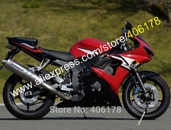 Fairings for YZF-R6 2003 2004 YZF R6 YZF 600 r6 03 04 Black Red body kit Motorbike fairing set (Injection molding)
