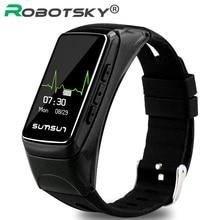 Smart Браслет фитнес Heart Rate Водонепроницаемый Bluetooth Стиль smartband для Samsung Android IOS смартфон браслет