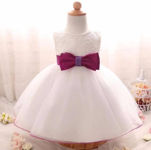 7792fc7675524 US $18.0  Nicoevaropa Girls Kids Gown Designs Toddler Infant Christening  Baptism Dresses Glitter Tutu Dress For Baby Girl Birthday Gift-in Dresses  ...