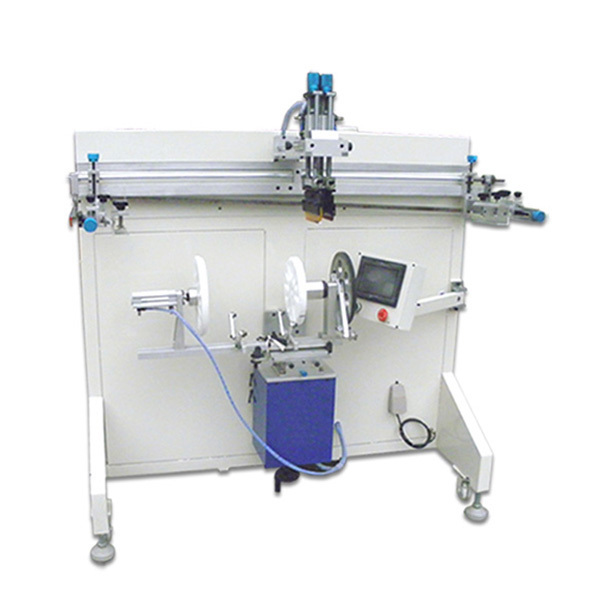 Gas tank label printing machine, label printing machine for gas tank