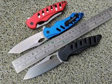 EF JH12 ELMAX steel / Aluminum alloy handle outdoor high quality portable folding knife camping collection cutting tools