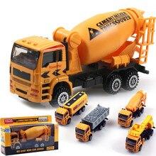 1:50 масштаб сплав инженерной модели, слайд автомобиль игрушки, грузовик, смеситель, детские развивающие игрушки, бесплатная доставка