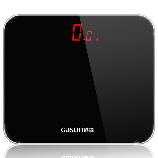 GASON A3 Bathroom Floor Scales Smart Household Electronic Bathroom Digital  Body Bariatric LED Display Division Value