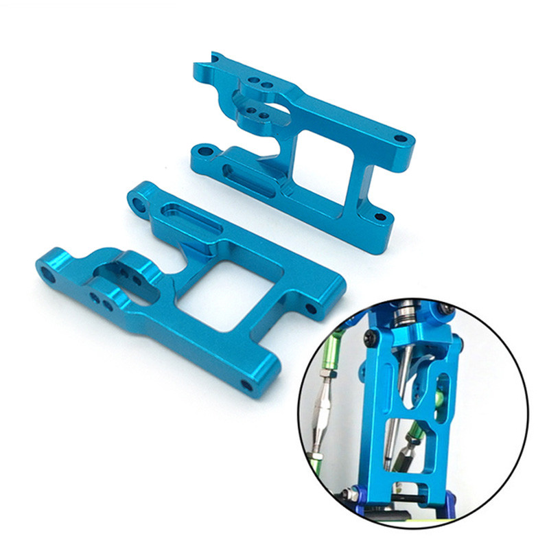 2PCS <font><b>Metal</b></font> Rocker Arm Left And Right Swing Arm For <font><b>WLtoys</b></font> <font><b>12428</b></font> 12423 1/12 Speed RC Car Feiyue FY-01/02/03/04/05 Upgrade Parts image