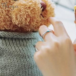 Image 3 - Thaya S925 argent Couple anneaux lautre rive étoilé Design anneaux pour femmes hommes redimensionnable symbole amour mariage bijoux cadeaux