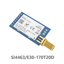 SI4463 170MHz TCXO 100mW E30-170T20D Long Distance rf module Module IoT UART Serial Port Wireless Transmitter and Receiver цена 2017