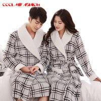 Top Quality Robe Men Plus Size XXL Bathrobe Men Terry Bathrobes Flannel Thickening Toweled Men Bathrobe