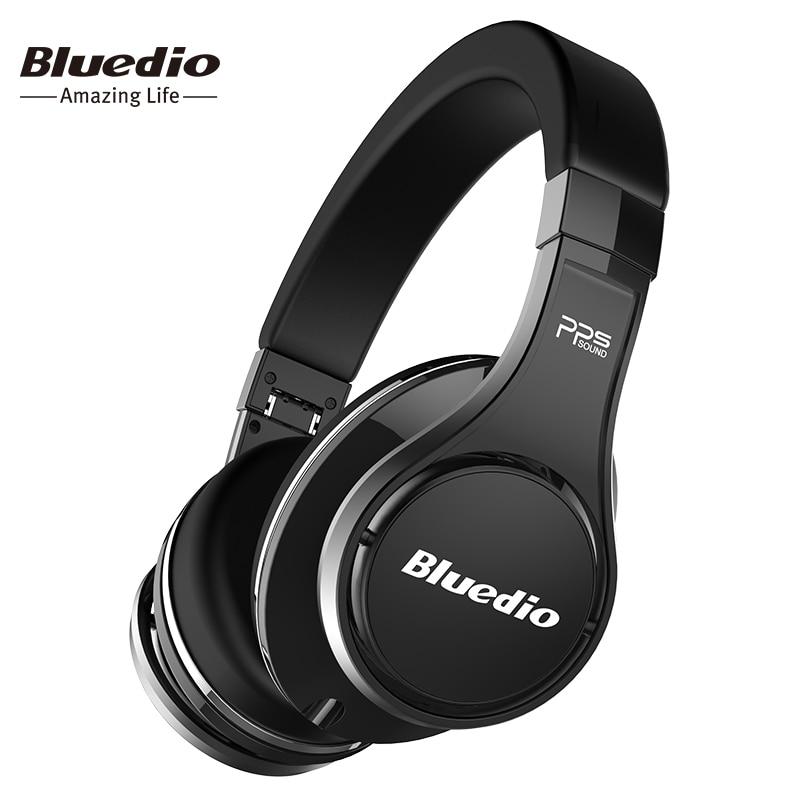 Bluedio U (UFO) Bluetooth kopfhörer ursprünglichen Patentierte 8 Treiber 3D Sound kopfhörer HiFi Über-ohr drahtlose headset für Xiaomi
