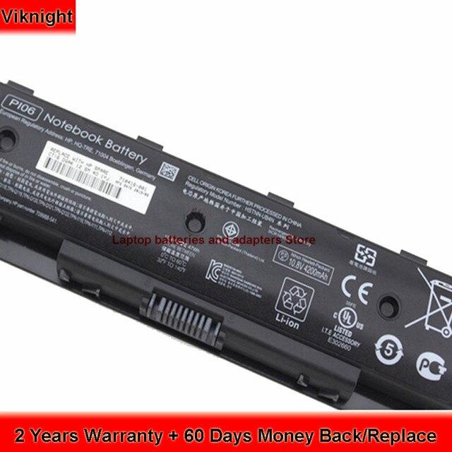 Aliexpress.com: Acheter P106 Batterie D\'ordinateur Portable Pour ...