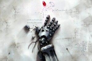 Decoración del hogar, completamente de Metal, Alchemist, póster de tela de seda, estampado DY0703