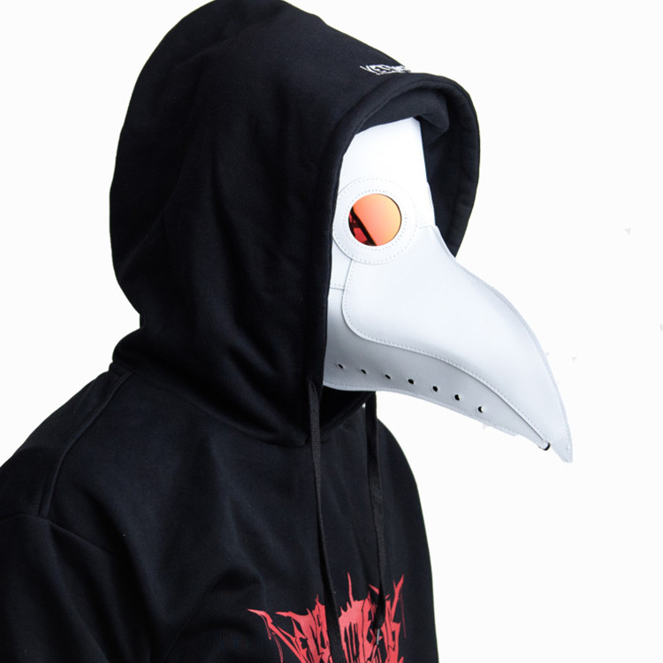 Retro Leather Plague Doctor Cosplay Steampunk Bird Fancy Mask Adult Sex SM Men Women Party Sexy Masks