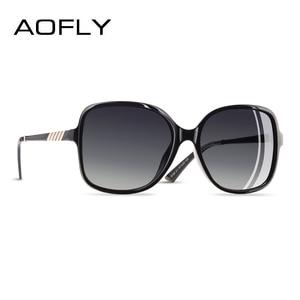 Image 1 - AOFLY Brand Design Elegant Sunglasses Women Oversized Frame Polarized Ladies Sun Glasses UV400 Eyewear Goggle Gafas De Sol A152