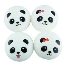 Ζεστό Πώληση 1pc Squishy Venting Ball Αστεία Παιχνίδι Προσομοίωση PU Cartoon Panda Squeeze Squishies Παιχνίδια
