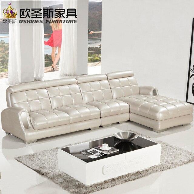 Delightful Neue Modell L Förmige Modernen Italien Echte Echtem Leder Schnitts Neueste  Ecke Möbel Wohnzimmer Geschlecht Pictures