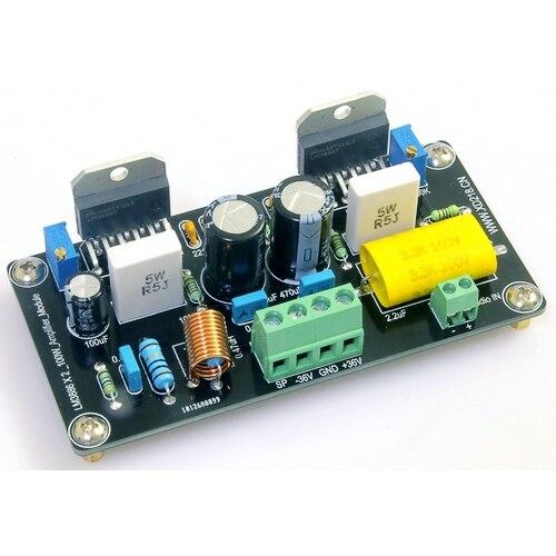 LM3886 mount 100W parallel mono mono DC audio power amplifier board ldb75 024sw power supplies board mount mr li