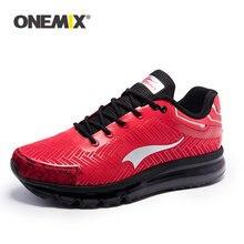 Кроссовки onemix мужские кожаные Повседневная Удобная спортивная