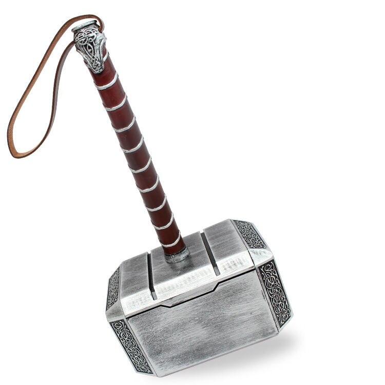 Date 44 cm 1:1 les Avengers Thor marteau mjolnir montrer base modèle adulte costume fête cosplay jouet collection cadeau chambre décoration - 6