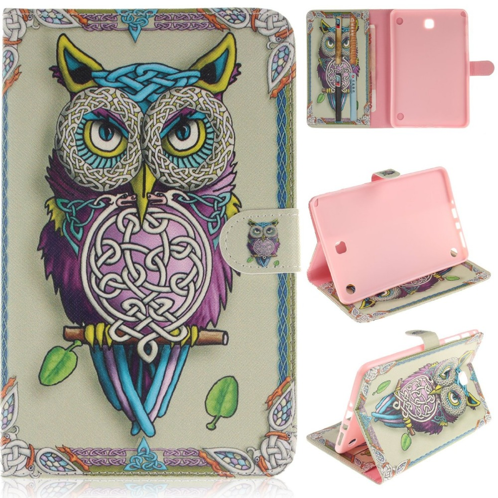 For Samsung Galaxy Tab A 8.0 Case Cover SM-T355 PU Leather Magnetic Closure Flip Stand Case for Samsung Galaxy Tab A 8.0 SM-T350 аксессуар чехол samsung galaxy tab a 7 sm t285 sm t280 it baggage мультистенд black itssgta74 1