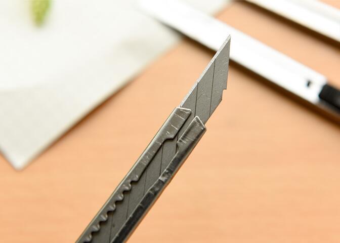 Канцелярские принадлежности нож Лезвие портативный мини автоблокировка