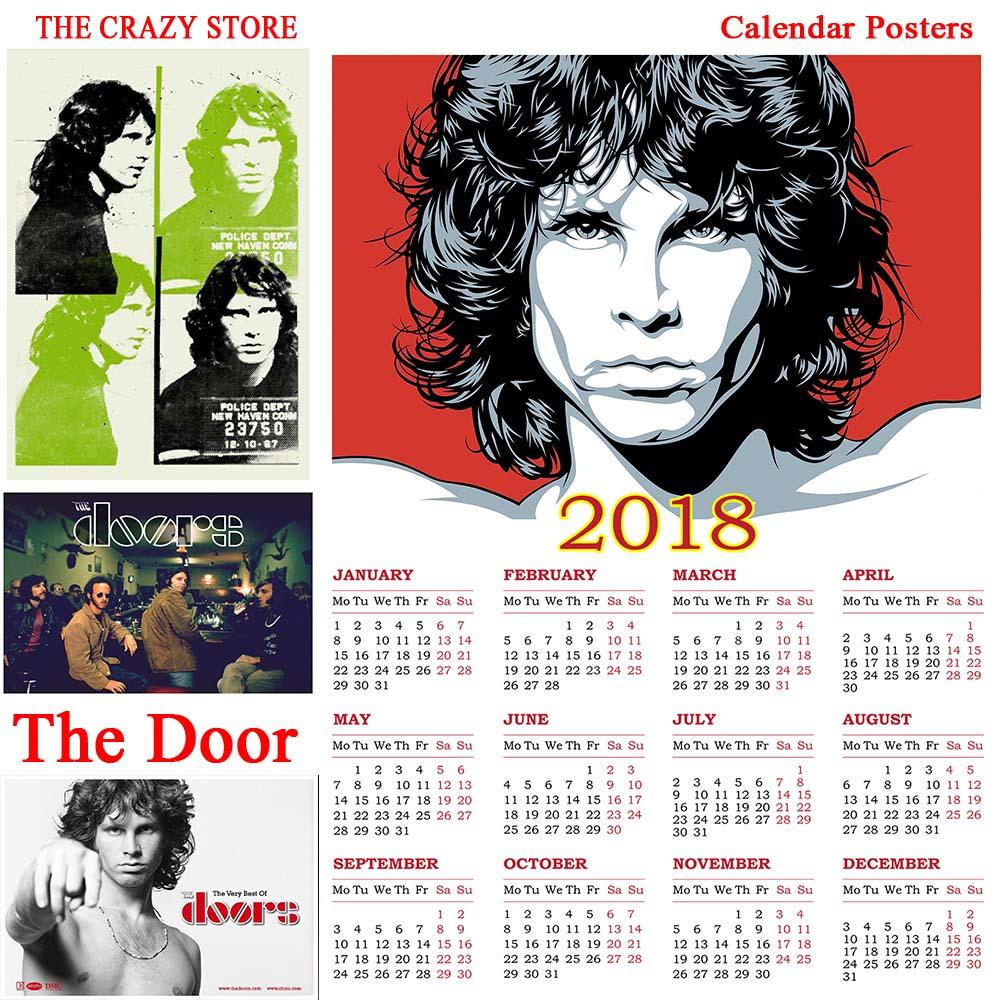 Secret Garden: The Door 2018 Calendar Rock Poster Vintage Retro Antique