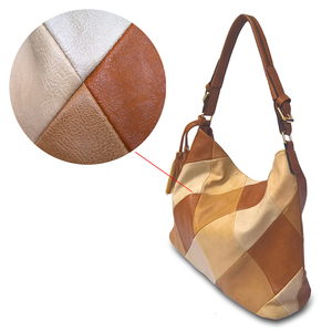 Image 2 - Moda çantalar kadınlar için 2020 lüks çanta kadın çantası tasarımcısı dikiş PU yumuşak deri omuzdan askili çanta Crossbody çanta üst kolu