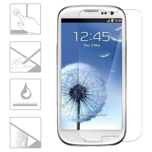 146d9eb56fe Ultrathin Explosion proof Premium Tempered Glass Film For Samsung Galaxy S3  Mini i8190 Screen Protector Protective Screen Film