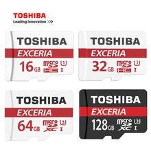 TOSHIBA Карты Памяти 128 ГБ 64 ГБ 32 ГБ 16 ГБ Карта Micro Sd Class10 UHS-3 Макс 90 МБ/с. Флэш-Карты Памяти Microsd для Смартфонов/Планшетов