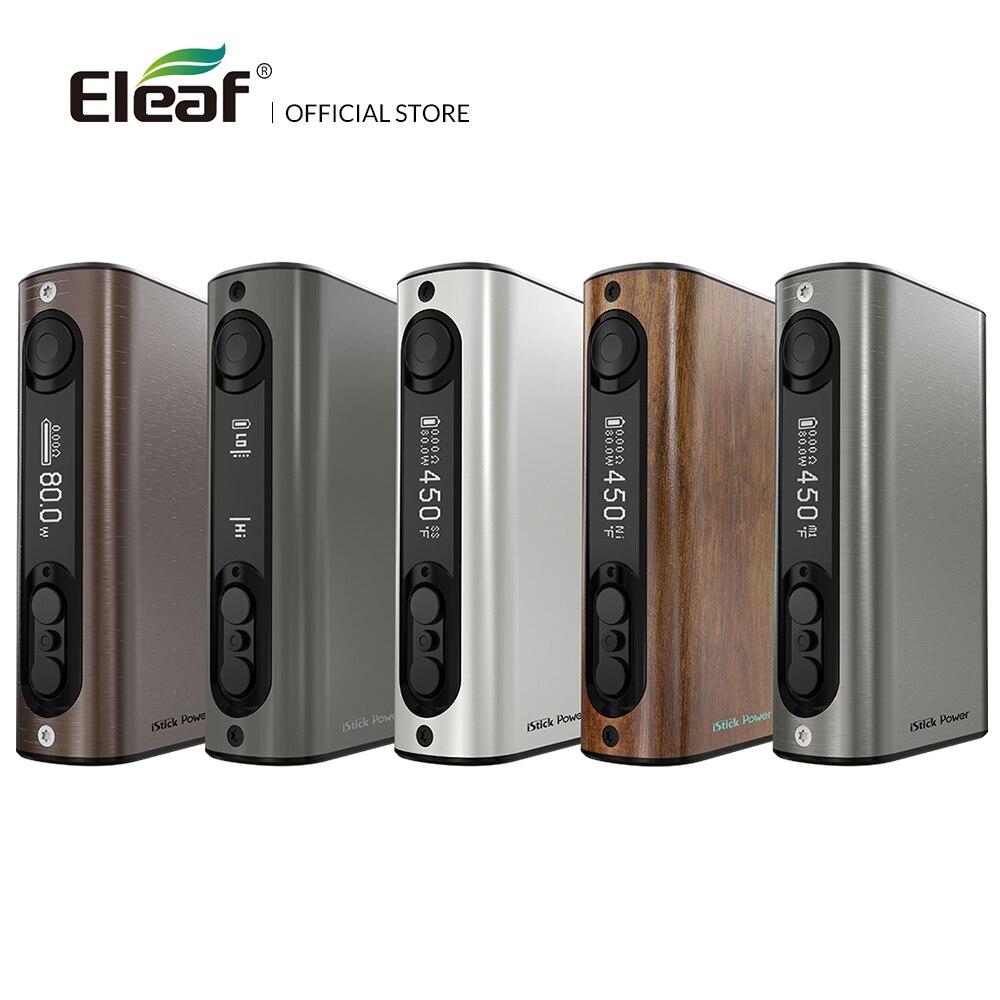 USA Warehouse Original Eleaf iStick Power Box Mod 80w ipower 5000mAh Battery Electronic Cigarette vape mod
