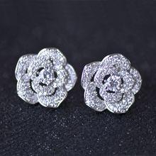 Bilincolor модные кристально чистые розы циркониевые Свадебные